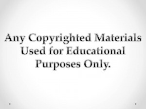 copyright ppt slide